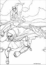 Fantastic Four coloring page (040)
