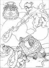 Fantastic Four coloring page (041)