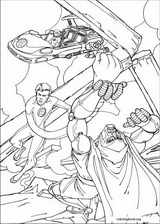 Fantastic Four coloring page (043)