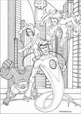 Fantastic Four coloring page (044)