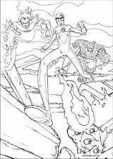 Fantastic Four coloring page (045)