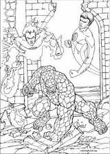 Fantastic Four coloring page (046)