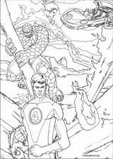 Fantastic Four coloring page (048)