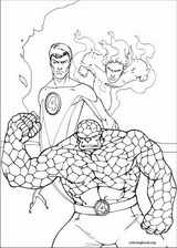 Fantastic Four coloring page (050)