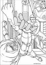 Fantastic Four coloring page (051)
