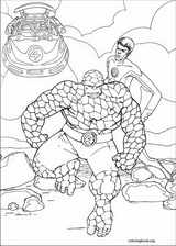 Fantastic Four coloring page (052)