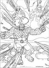 Fantastic Four coloring page (053)