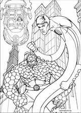 Fantastic Four coloring page (054)