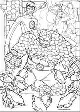 Fantastic Four coloring page (056)