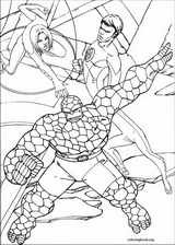 Fantastic Four coloring page (058)