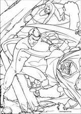 Fantastic Four coloring page (060)