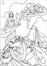 Fantastic Four coloring page (061)