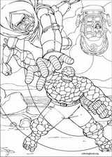 Fantastic Four coloring page (062)