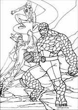 Fantastic Four coloring page (063)