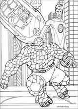 Fantastic Four coloring page (064)