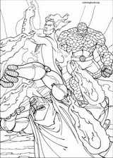 Fantastic Four coloring page (067)