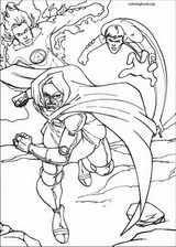 Fantastic Four coloring page (069)