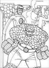 Fantastic Four coloring page (070)