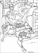 Fantastic Four coloring page (071)
