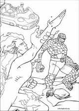 Fantastic Four coloring page (072)