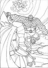 Fantastic Four coloring page (073)