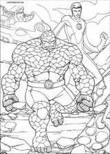 Fantastic Four coloring page (078)