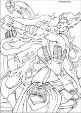 Fantastic Four coloring page (081)