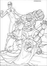 Fantastic Four coloring page (082)