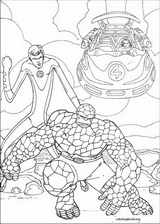 Fantastic Four coloring page (084)