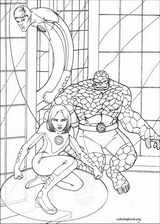 Fantastic Four coloring page (085)