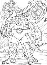 Fantastic Four coloring page (086)
