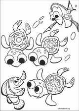 Finding Nemo coloring page (005)