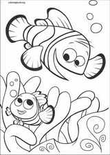 Finding Nemo coloring page (008)