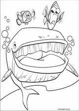 Finding Nemo coloring page (026)