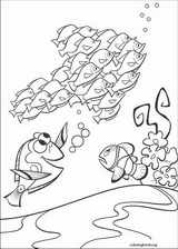 Finding Nemo coloring page (039)