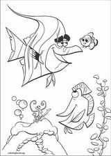 Finding Nemo coloring page (041)