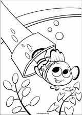 Finding Nemo coloring page (047)