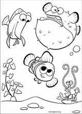 Finding Nemo coloring page (049)