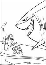 Finding Nemo coloring page (058)