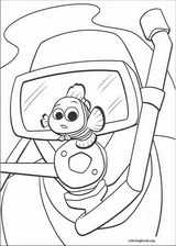 Finding Nemo coloring page (061)