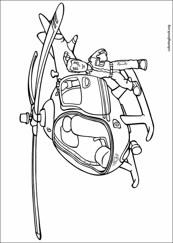 fireman sam coloring pages kids - Clip Art Library | 794x567