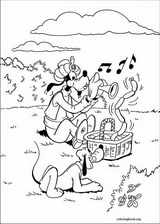 Goofy coloring page (009)