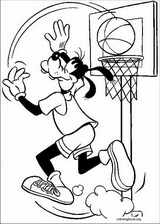 Goofy coloring page (024)