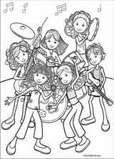 Groovy Girls coloring page (008)