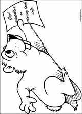 Groundhog Day coloring page (001)