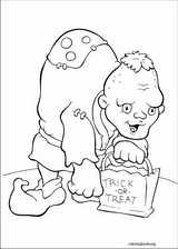 Halloween coloring page (004)