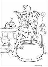 Halloween coloring page (009)