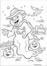 Halloween coloring page (024)