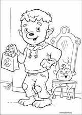 Halloween coloring page (025)
