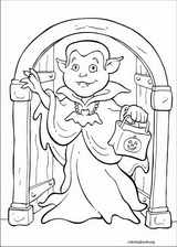 Halloween coloring page (037)